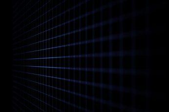 Wallpaper 4k, Dark, Blue Lines, Grid Lines, Backgrounds