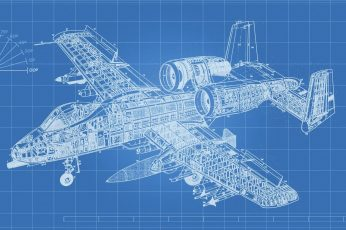 Wallpaper Aircraft Blue Print, Airplane, Technology