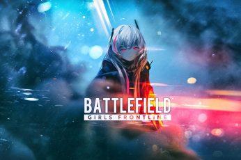 Wallpaper Anime, Anime Girls, Battlefield, Girls Front line