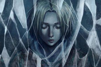 Wallpaper Anime, Attack On Titan, Annie Leonhart, Shingeki
