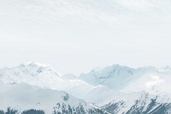 Wallpaper Apple Ios Snow Mountains, Mountain Alps, Computer