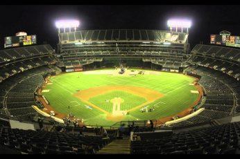 Wallpaper Athletics, Baseball, Mlb, Oakland