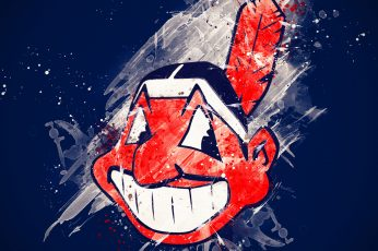 Wallpaper Baseball, Cleveland Indians, Logo, Mlb