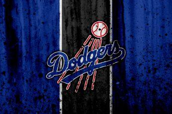 Wallpaper Baseball, Los Angeles Dodgers, Logo, Mlb
