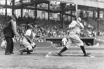 Wallpaper Baseball Mlb New York Yankees Babe Ruth