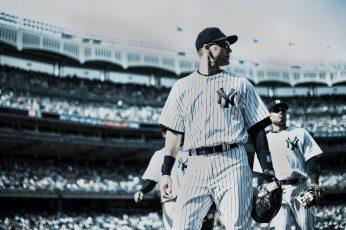 Wallpaper Baseball, New York Yankees, Derek Jeter, Mlb