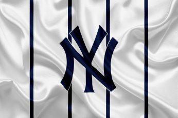 Wallpaper Baseball, New York Yankees, Logo, Mlb