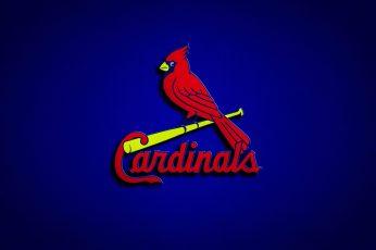 Wallpaper Baseball, St. Louis Cardinals, Emblem, Logo, Mlb