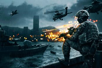 Wallpaper Battlefield 4, Game, Ea Digital Illusions Ce