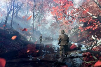 Wallpaper Battlefield, Battlefield V