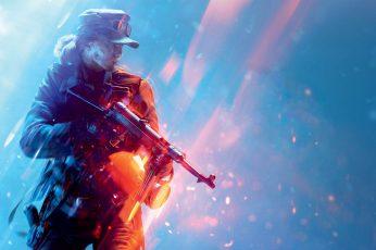 Wallpaper Battlefield 4K, Battlefield V