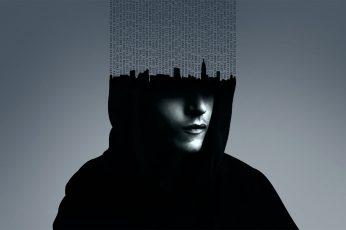 Wallpaper Coded Man Wallpaper, Mr. Robot, Tv, Hacking