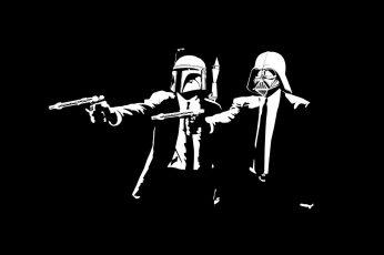Darth Vader And Stormtrooper Wallpaper, Star Wars