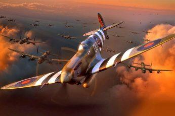 Wallpaper Figure, Fighter, The Second World War, Ww2