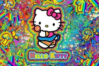 Wallpaper Hello Kitty, Anime Hello Kitty Hd Art