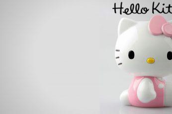 Wallpaper Hello Kitty Figurine, Kittens, Cat, Piggy Bank