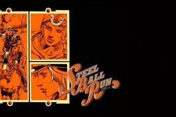 Wallpaper Jojo's Bizarre Adventure, Steel Ball Run, Johnny