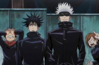 Wallpaper Jujutsu Kaisen, Anime Boys
