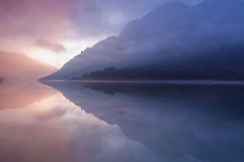 Wallpaper Mac Os X, 5k, Lake, River, Reflections, Macos