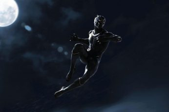 Wallpaper Marvel Cinematic Universe, Black Panther, Marvel