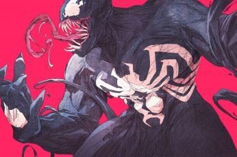 Wallpaper Marvel Venom Poster, Chun Lo, Marvel Comics