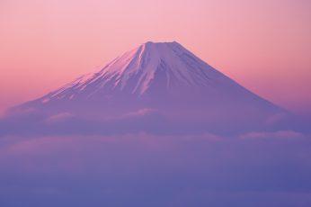 Wallpaper Mount Fuji, Mac Os X Lion