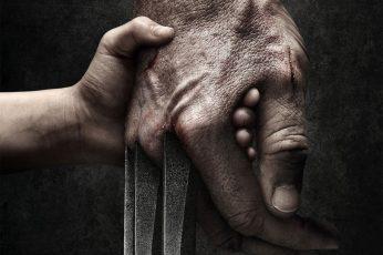 Wallpaper Movie, Logan, Hand, Hugh Jackman, Laura Kinney