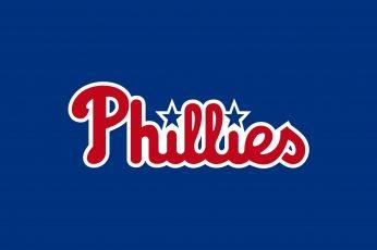 Wallpaper Philadelphia Phillies Baseball Mlb Blue Hd, Sport