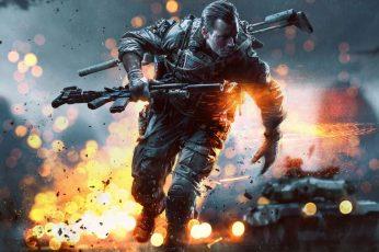 Soldier Man 3d Wallpaper, Battlefield