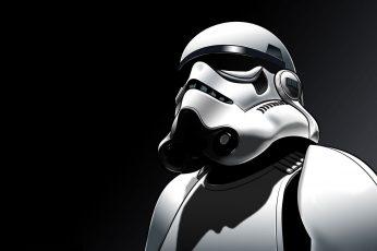 Wallpaper Star Wars Stormtrooper Illustration, Digital Art
