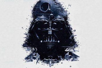 Star Wars Wallpaper, Darth Vader, Artwork