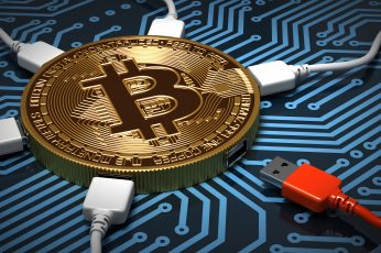 Wallpaper Technology, Bitcoin, Money, Cryptocurrency, 8k