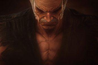 Wallpaper Tekken 7, Heihachi, Warrior, Video Games