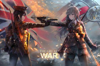 The Great War Wallpaper, Anime, Anime Girls