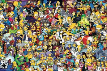 The Simpson Wallpaper, The Simpsons, Homer Simpson