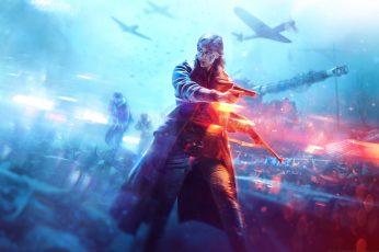 Wallpaper Video Games, Battlefield V, Ultrawide