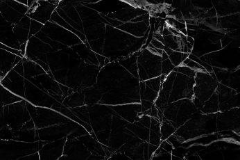 Aesthetic Black Marble Wallpaper