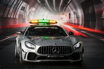 Wallpaper 2018, 4k, Mercedes Amg Gt R F1 Safety Car
