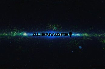 Wallpaper Alienware Logo, Space, Pc Gaming, Text