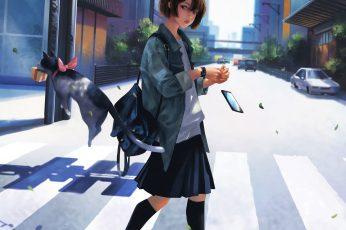 Wallpaper Anime Girls, Original Characters, Fantasy Art
