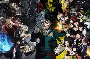 Wallpaper Anime, My Hero Academia, All For One Boku No Hero