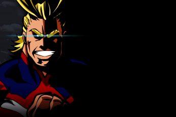 Wallpaper Anime, My Hero Academia, All Might
