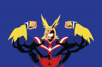 Wallpaper Anime, My Hero Academia, All Might, Toshinori