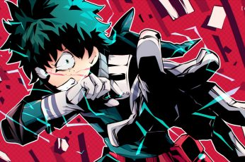 Wallpaper Anime, My Hero Academia, Angry, Belt, Boku No Hero