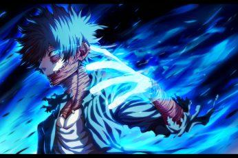 Wallpaper Anime, My Hero Academia, Dabi Boku No Hero Academia