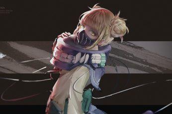 Wallpaper Anime, My Hero Academia, Himiko Toga