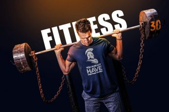 Wallpaper Barbell, Exercise, Fitness, Man, Indoor, Poster