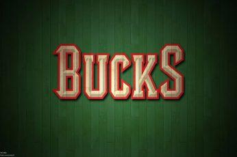 Wallpaper Basketball, Milwaukee Bucks, Emblem, Nba