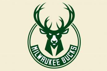 Wallpaper Basketball, Milwaukee Bucks, Logo, Nba