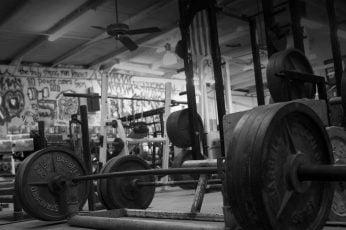 Wallpaper Black Barbell, Working Out, Exercise, Gyms